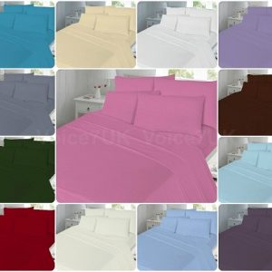 T180 Extra-Deep Fitted Bed Sheets - 180 THREAD COUNTS 20