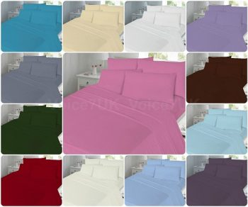 T180 Extra-Deep Fitted Bed Sheets - 180 THREAD COUNTS 12