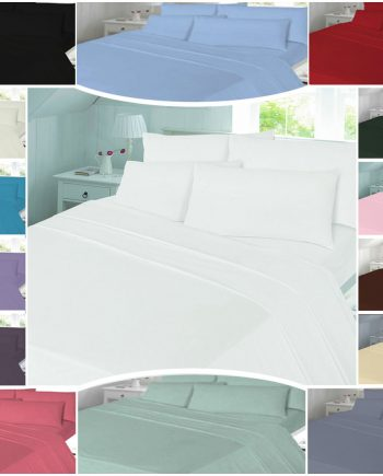 T180 PLAIN Duvet Cover Sets – PERCALE 180 THREAD COUNTS 3 350x435