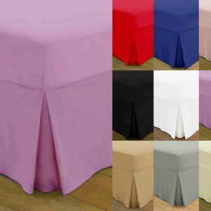 T200 PERCALE VALANCE Bed Sheets - 200 THREAD COUNTS 14