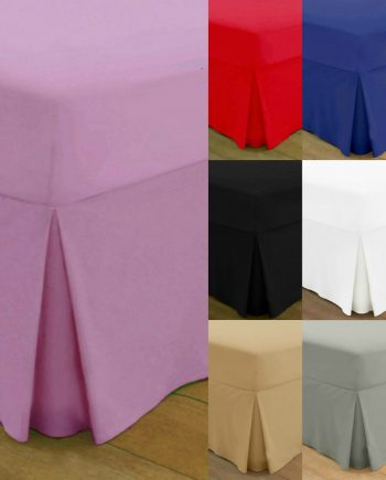 T200 PERCALE VALANCE Bed Sheets – 200 THREAD COUNTS All Best 3 350x435