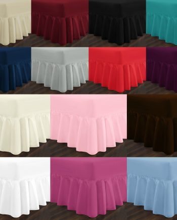EASY CARE Valance Bed Sheets PolyCotton Fabric All best 350x435