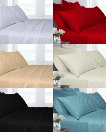 T250 100% Cotton Duvet Cover Set with Pillowcases Combined 1 350x435