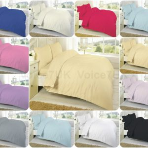 T200 Percale FLAT Bed Sheets - 200 THREAD COUNTS 16
