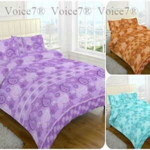 Luxury PAISLEY Duvet Cover Sets, 3 PolyCotton COLORS 4