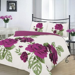"Duvet Cover Sets ""ISABELLA"" PolyCotton Fabric 6"