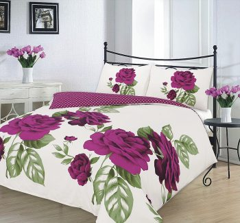 "Duvet Cover Sets ""ISABELLA"" PolyCotton Fabric 9"