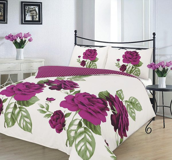 "Duvet Cover Sets ""ISABELLA"" PolyCotton Fabric 1"