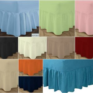 T180 VALANCE Bed Sheets - PERCALE 180 Thread Counts 30