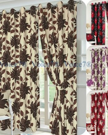 Luxury SEREN Pair of Fully Lines Ready Made CURTAINS All Best SEREN 350x435