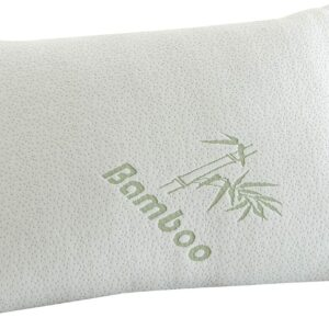 """""""Voice 7"""" Luxury BAMBOO Pillow ~ Head Neck Support ~ Anti-Allergy & Anti Bacterial ORTHOPEDIC PILLOW 8"""