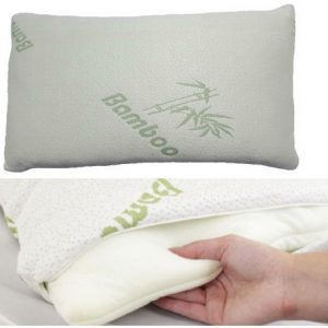 """Voice 7"" Luxury BAMBOO Pillow ~ Head Neck Support ~ Anti-Allergy & Anti Bacterial ORTHOPEDIC PILLOW 18"