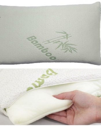 """""""Voice 7"""" Luxury BAMBOO Pillow ~ Head Neck Support ~ Anti-Allergy & Anti Bacterial ORTHOPEDIC PILLOW FOTOR Copy 350x435"""