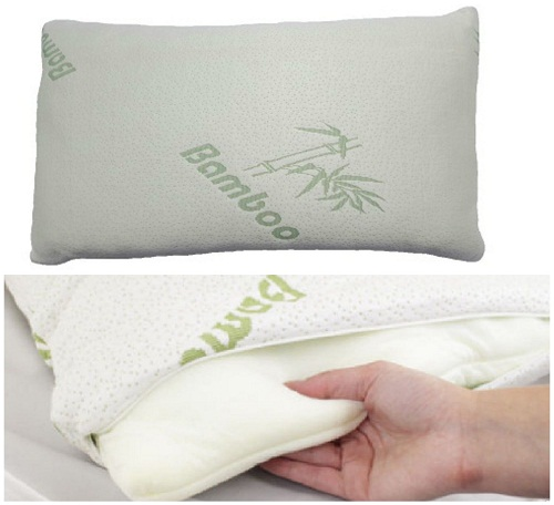 """Voice 7"" Luxury BAMBOO Pillow ~ Head Neck Support ~ Anti-Allergy & Anti Bacterial ORTHOPEDIC PILLOW 1"