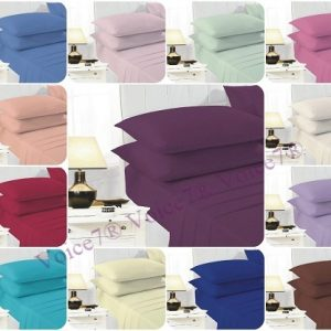ULTRAFRESH PolyCotton Extra Deep-Fitted Sheets ~ 19 Colors & 4 Sizes 12