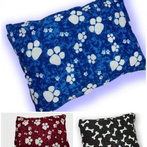 "1pc Medium DOG BED Filled Pillow/Cushion | PolyCotton Fabric~SIZE: 28""x18"" 