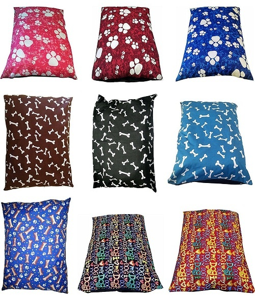 "1 piece EXTRA-LARGE Dog Bed Pillow Cover only | PolyCotton Fabric ~SIZE: 37""x56"" 