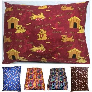 DOG BED PILLOW COVERS ONLY | SIZES: Medium, Large & X-Large | 6