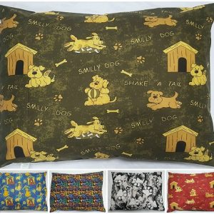 DOG BED PILLOW COVERS ONLY | SIZES: Medium, Large & X-Large | 10