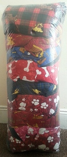 "10 LARGE Dog Bed Filled Pillows | WholeSale Offer | 39""x29"" SIZE~PolyCotton Fabric 