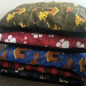 "5 LARGE Dog Bed Filled Pillows / Cushions | 39"" x 29"" DIFFERENT PATTERNS WHOLESALE OFFER 