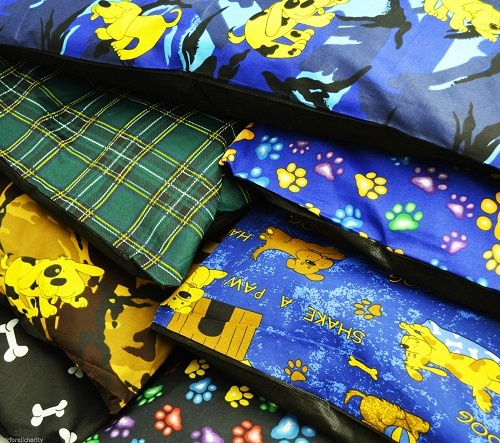 Pack of 2 DOG BED Pillow Covers only  | Medium, Large & X-Large SIZES | 1