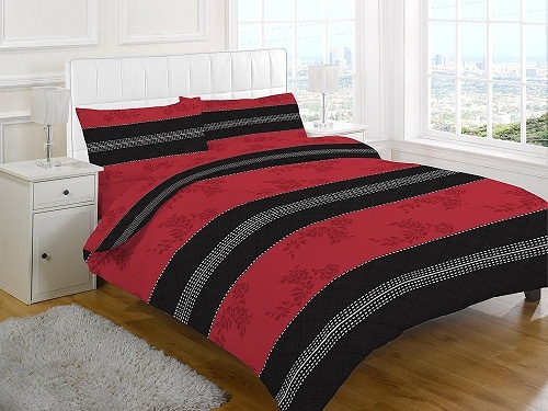 ANNALIESE Duvet Cover Set with PillowCases | PolyCotton Fabric & UK SIZES | 1