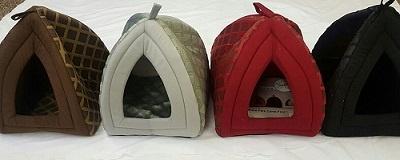 Luxury Warm Pet Dog Cat igloo Cave House - Small & Large Sizes 2