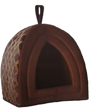 Luxury Warm Pet Dog Cat igloo Cave House - Small & Large Sizes 1