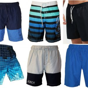 Mens Swimming Board Short Trunks - Beach Holiday Summer Shorts - High Quality SwimWear With 3 Pockets 18