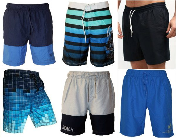 Mens Swimming Board Short Trunks - Beach Holiday Summer Shorts - High Quality SwimWear With 3 Pockets 1